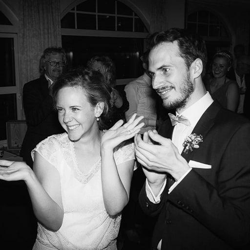 Hochzeitspaar - gute Hochzeitsband finden