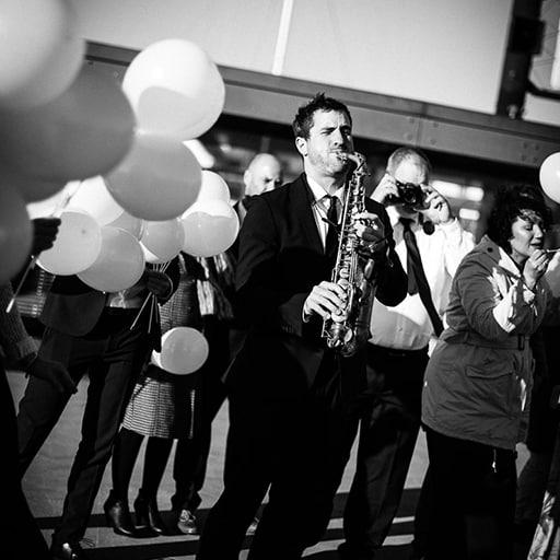 Saxophon Hochzeit // Hochzeitsband mit Sax