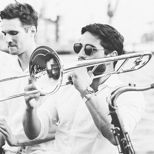 Brassband Posaune
