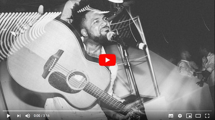 akustik gitarre und sänger live