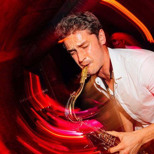 Solo Saxophon Live auf Firmenevent